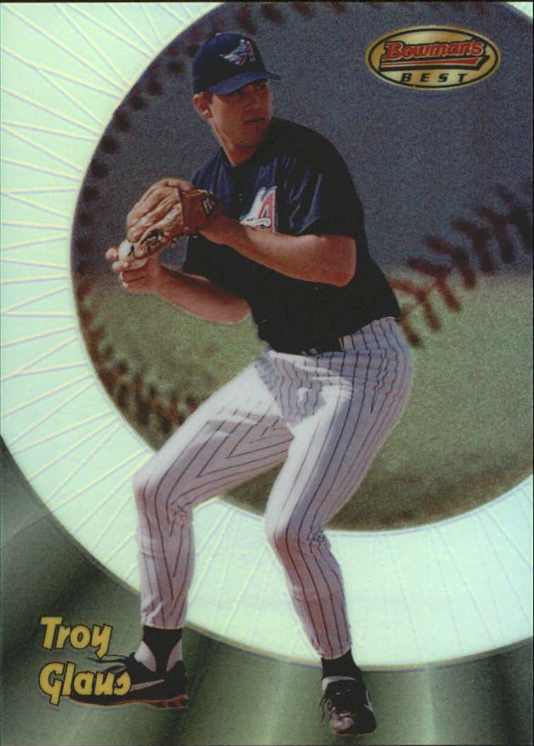 1998 Bowman's Best Refractors #153 Troy Glaus