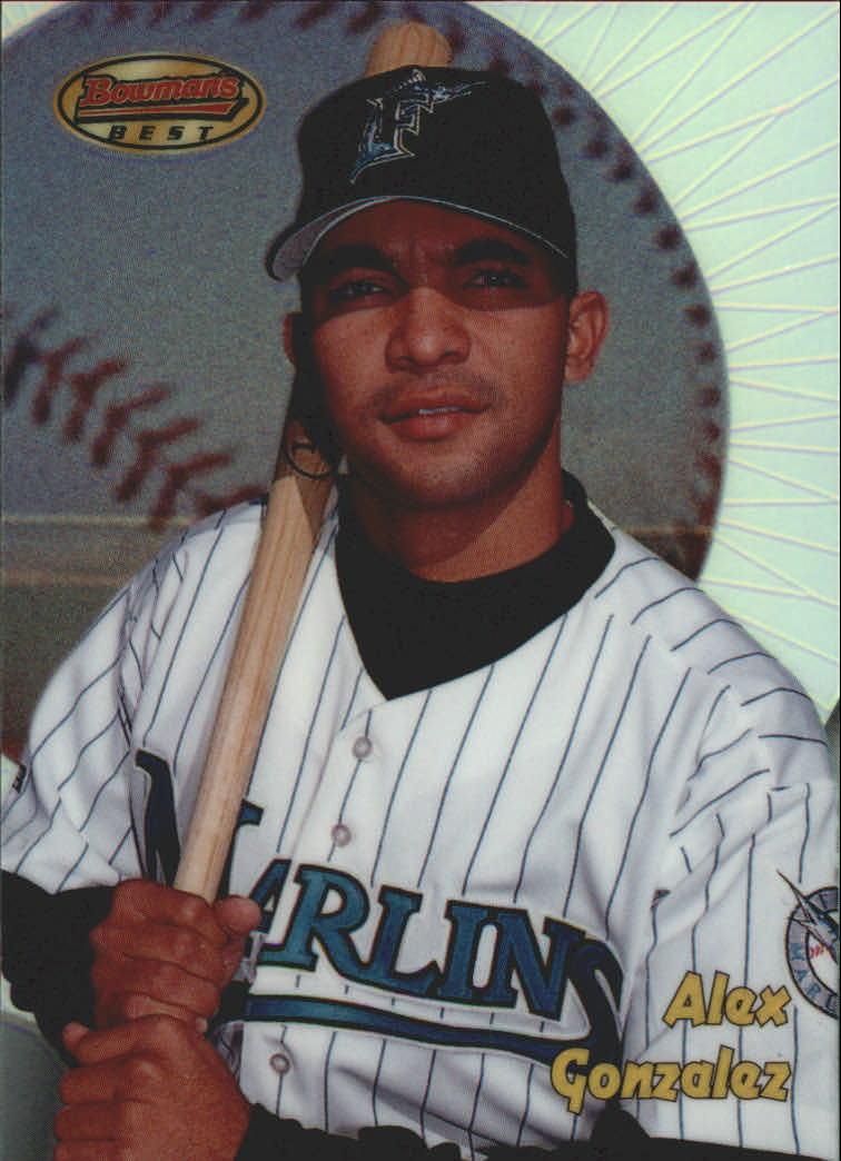 1998 Bowman's Best Refractors #165 Alex Gonzalez