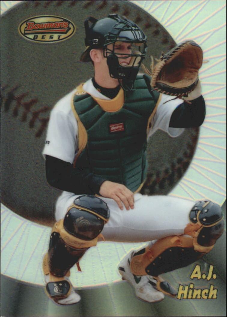 1998 Bowman's Best Refractors #176 A.J. Hinch