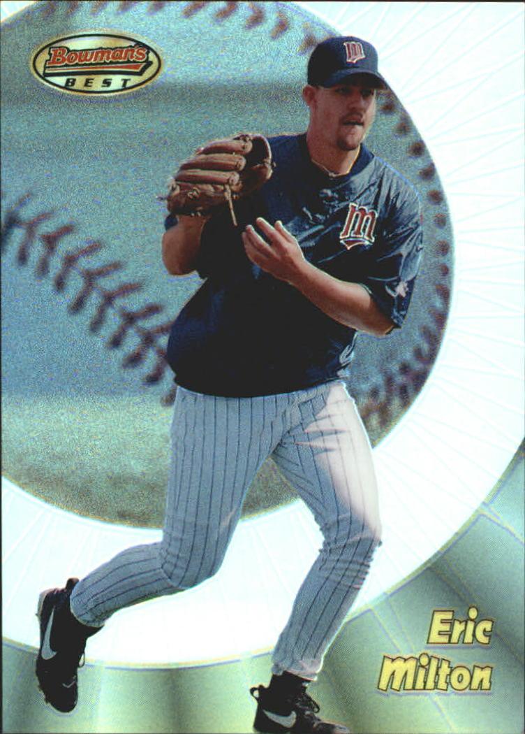 1998 Bowman's Best Refractors #184 Eric Milton