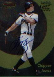 1998 Bowman's Best Autographs #5 Chipper Jones