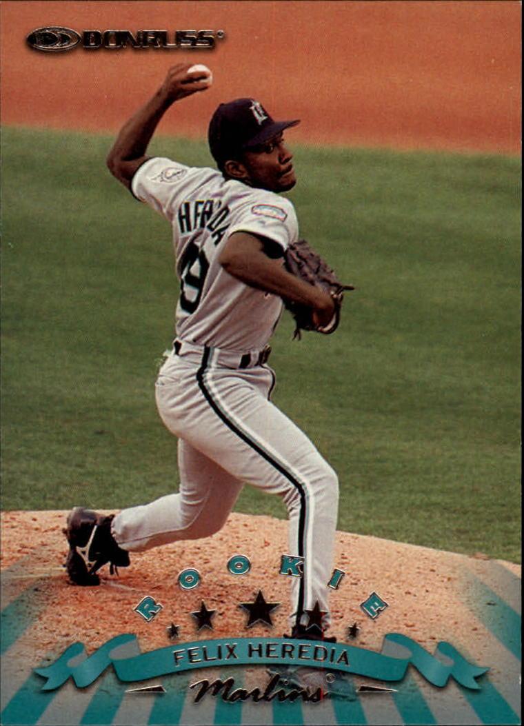 1998 Donruss #311 Felix Heredia