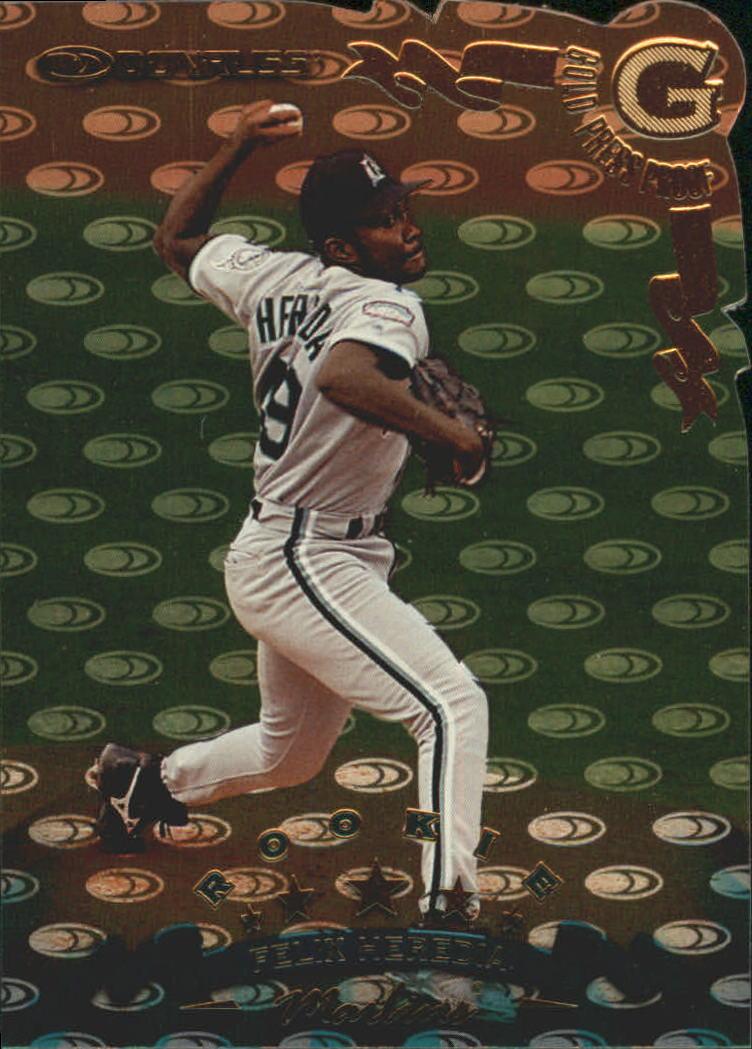 1998 Donruss Gold Press Proofs #311 Felix Heredia