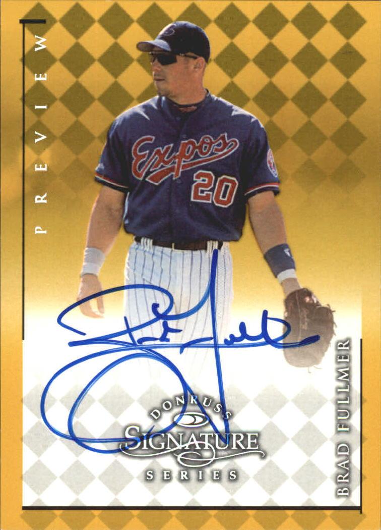 1998 Donruss Signature Series Previews #8 Brad Fullmer/396