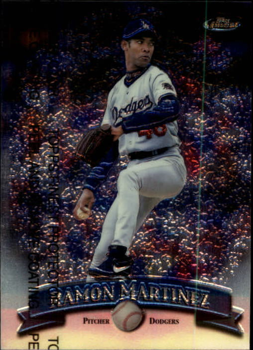 1998 Finest #3 Ramon Martinez
