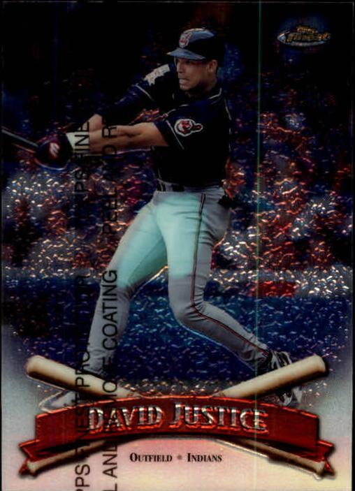 1998 Finest #5 David Justice