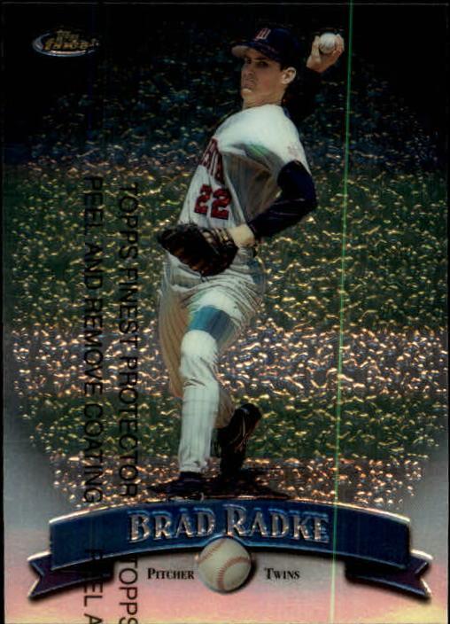 1998 Finest #21 Brad Radke
