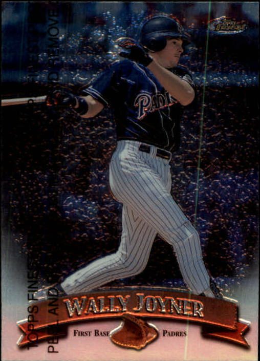 1998 Finest #58 Wally Joyner