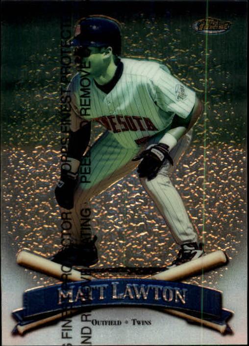 1998 Finest #117 Matt Lawton