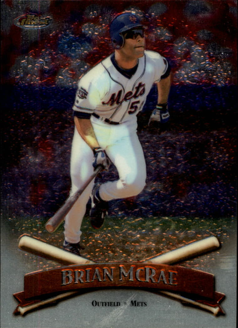 1998 Finest No-Protectors #12 Brian McRae