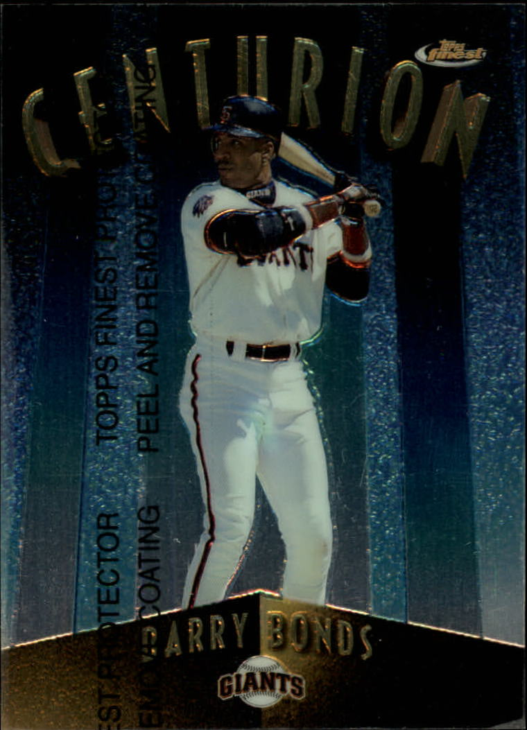 1998 Finest Centurions #C7 Barry Bonds