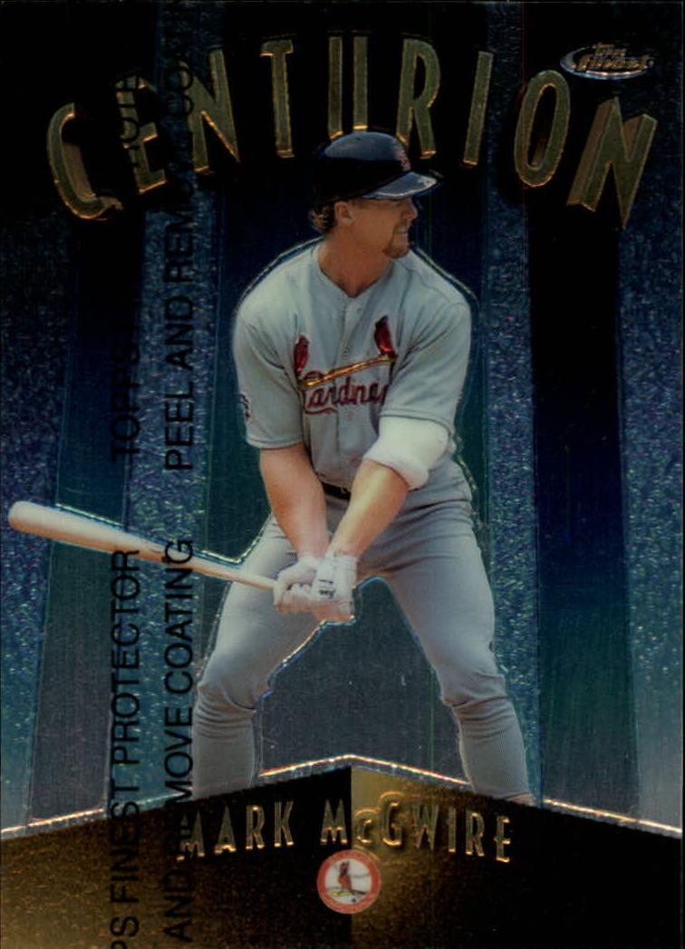 1998 Finest Centurions #C8 Mark McGwire