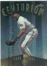 1998 Finest Centurions #C11 Frank Thomas