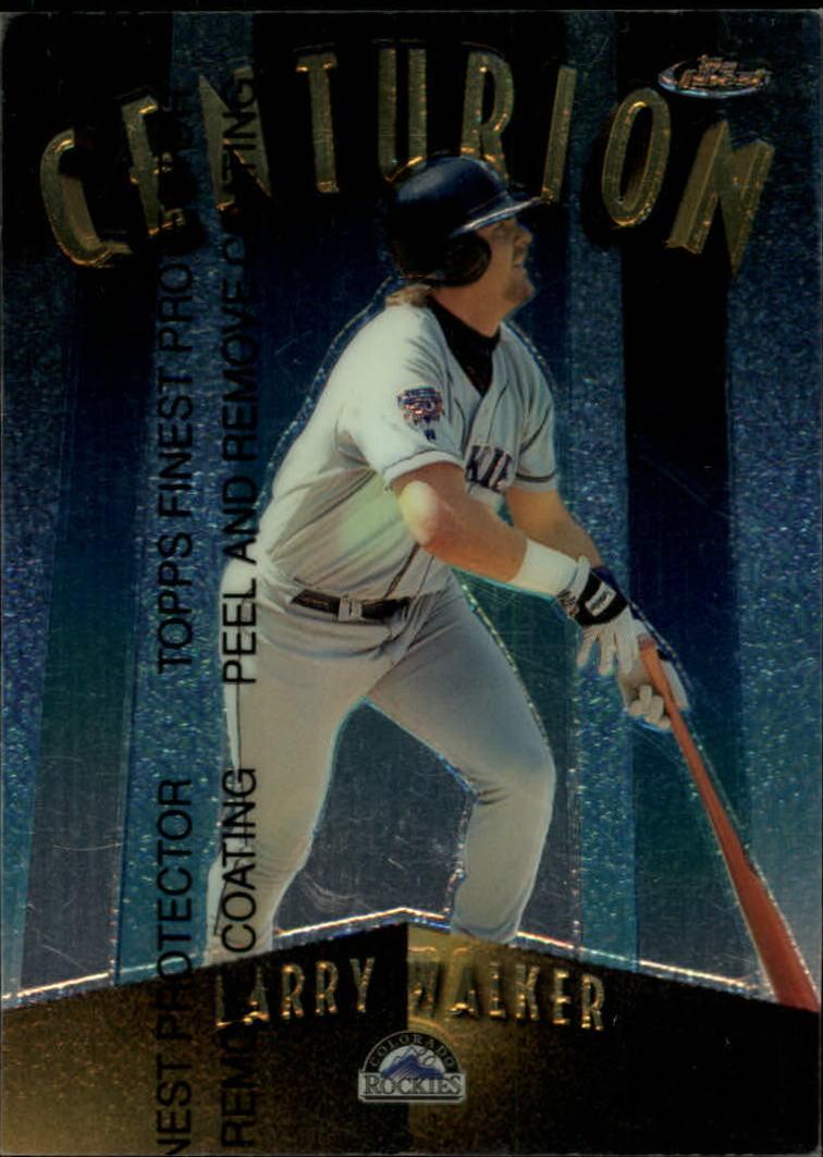 1998 Finest Centurions #C17 Larry Walker