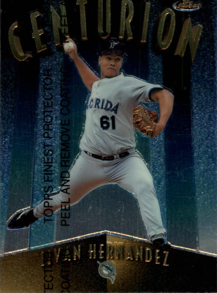 1998 Finest Centurions #C19 Livan Hernandez