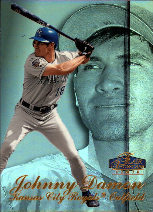 1998 Flair Showcase Row 3 #79 Johnny Damon