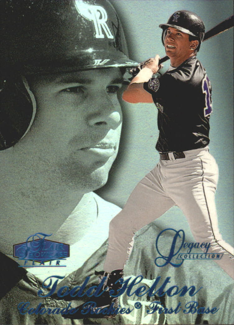 1998 Flair Showcase Legacy Collection Row 3 #12 Todd Helton