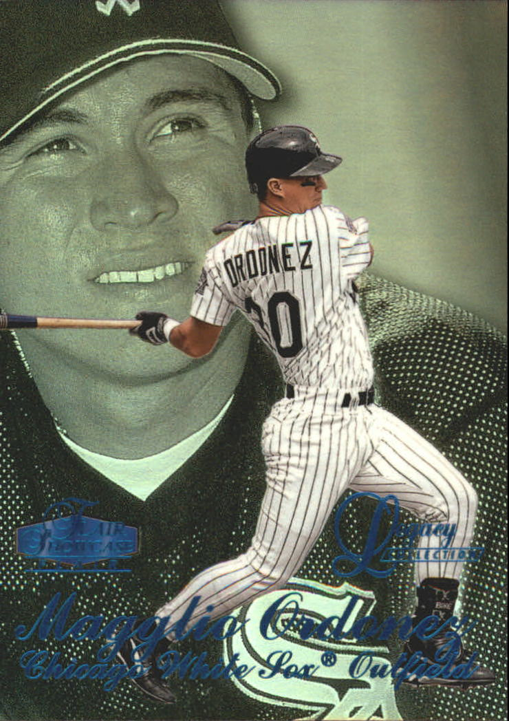 1998 Flair Showcase Legacy Collection Row 3 #32 Magglio Ordonez