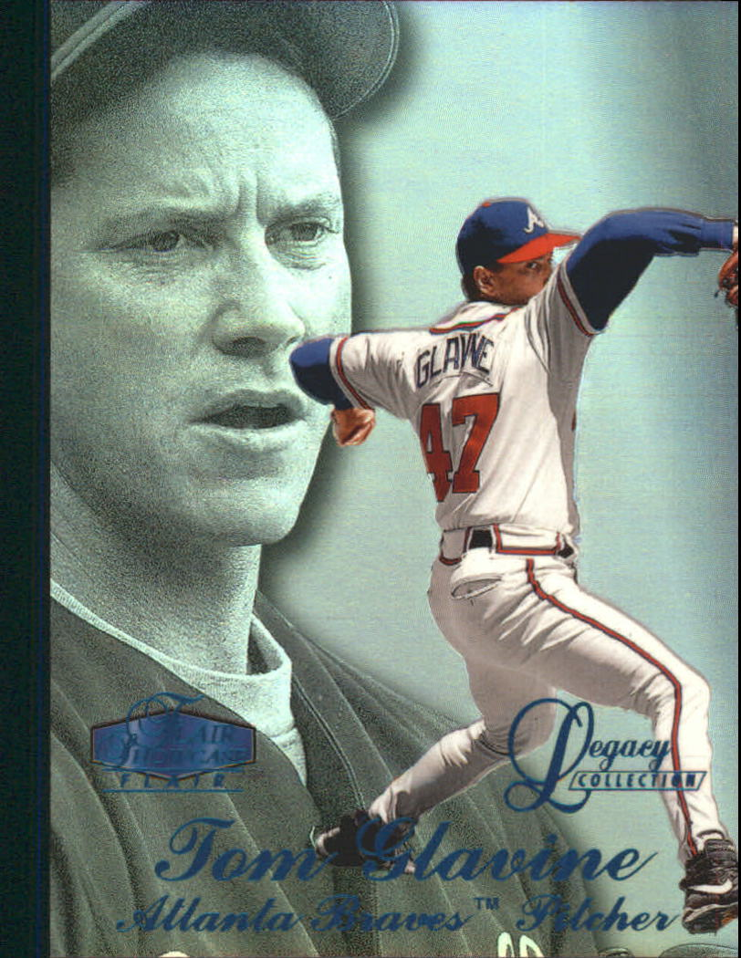 1998 Flair Showcase Legacy Collection Row 3 #81 Tom Glavine