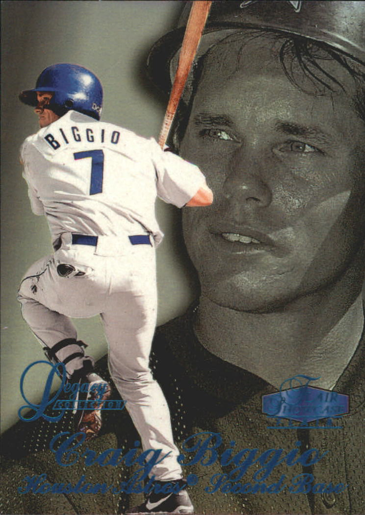 1998 Flair Showcase Legacy Collection Row 3 #86 Craig Biggio
