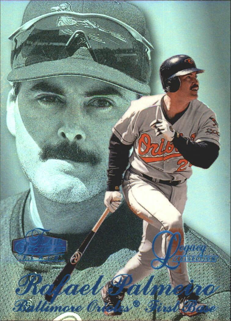 1998 Flair Showcase Legacy Collection Row 3 #88 Rafael Palmeiro