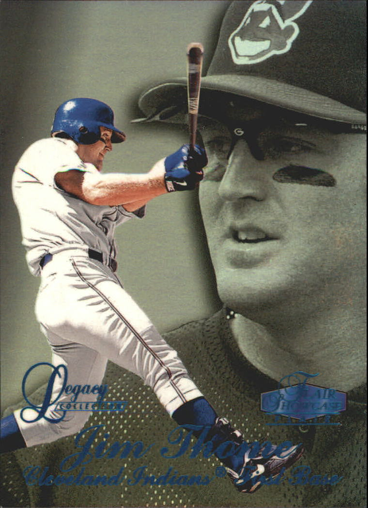 1998 Flair Showcase Legacy Collection Row 3 #89 Jim Thome