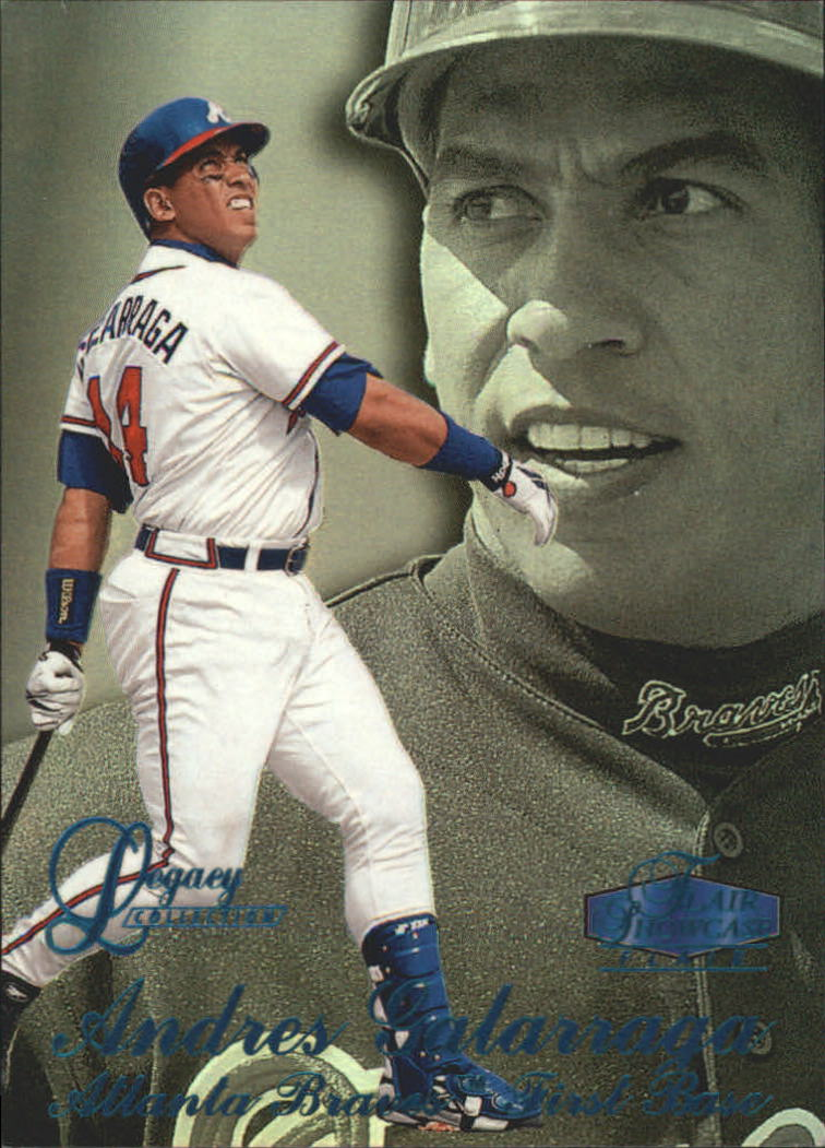 1998 Flair Showcase Legacy Collection Row 3 #90 Andres Galarraga