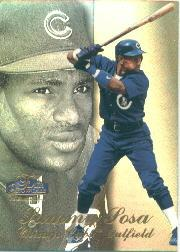 1998 Flair Showcase Legacy Collection Row 3 #91 Sammy Sosa
