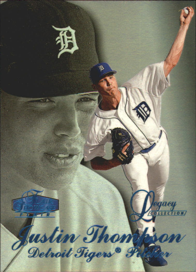 1998 Flair Showcase Legacy Collection Row 3 #94 Justin Thompson