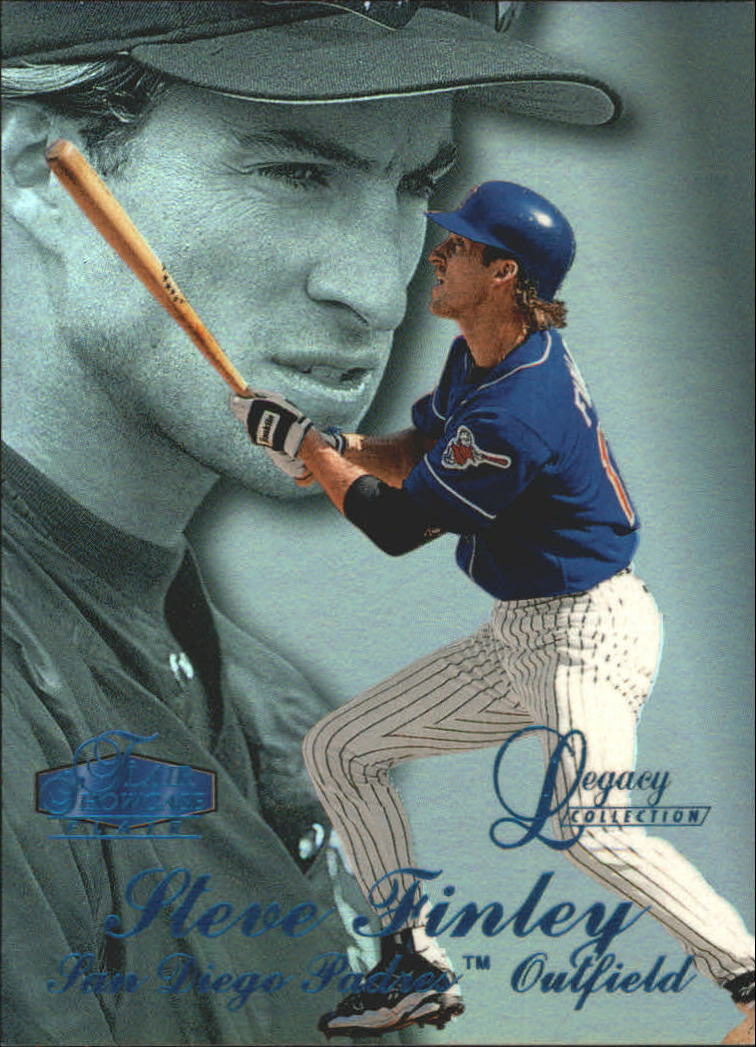 1998 Flair Showcase Legacy Collection Row 3 #101 Steve Finley
