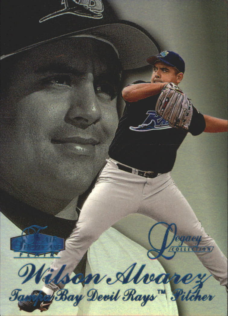 1998 Flair Showcase Legacy Collection Row 3 #104 Wilson Alvarez