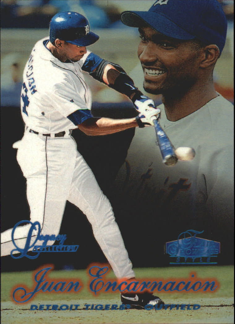 1998 Flair Showcase Legacy Collection Row 2 #18 Juan Encarnacion