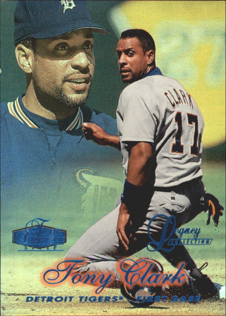 1998 Flair Showcase Legacy Collection Row 2 #22 Tony Clark