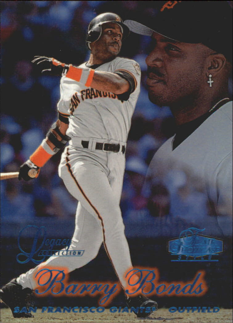 1998 Flair Showcase Legacy Collection Row 2 #36 Barry Bonds
