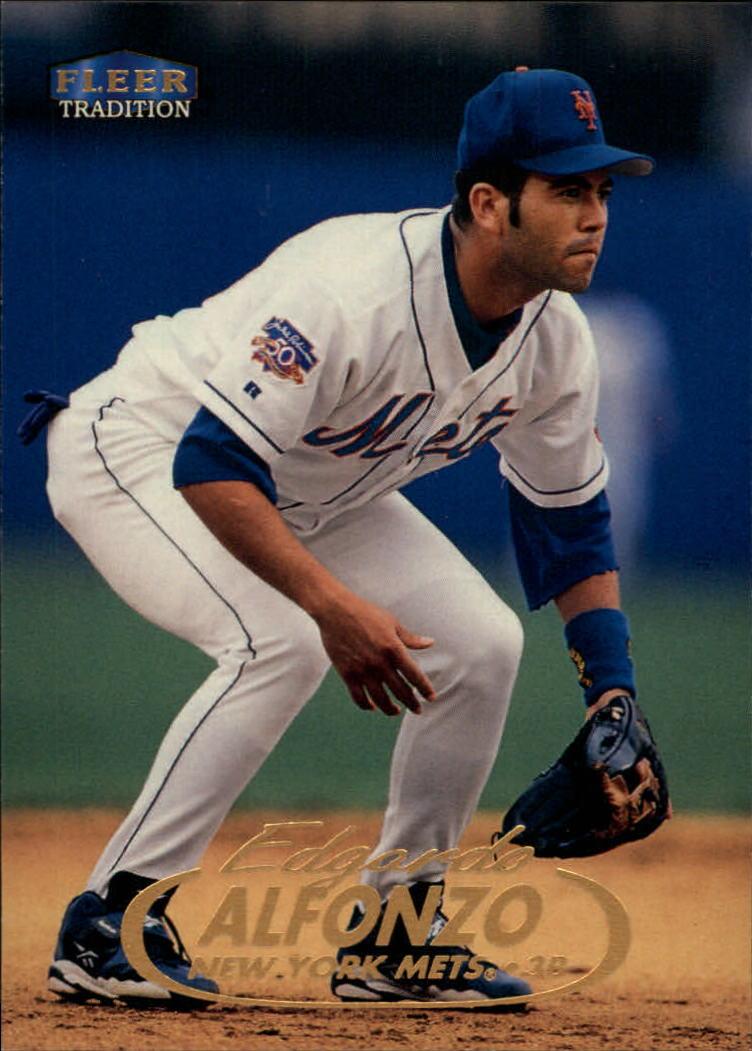 1998 Fleer Tradition #13 Edgardo Alfonzo