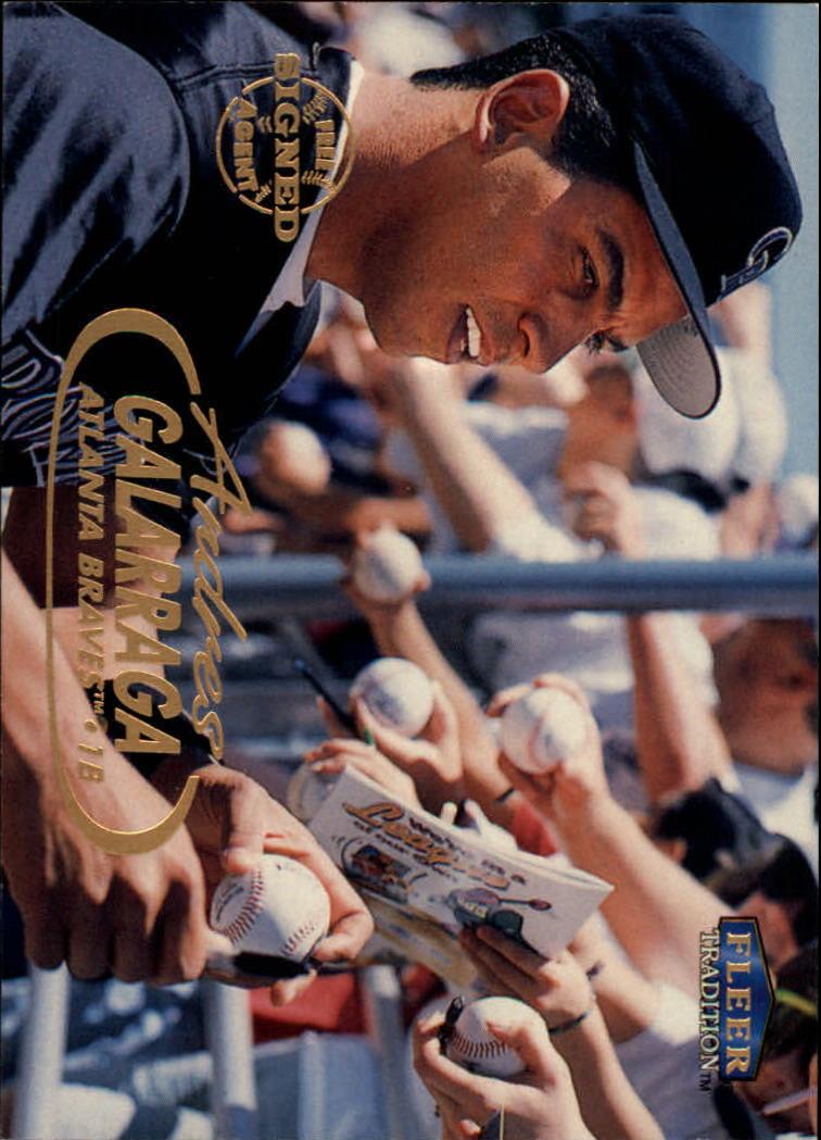 1998 Fleer Tradition #14 Andres Galarraga