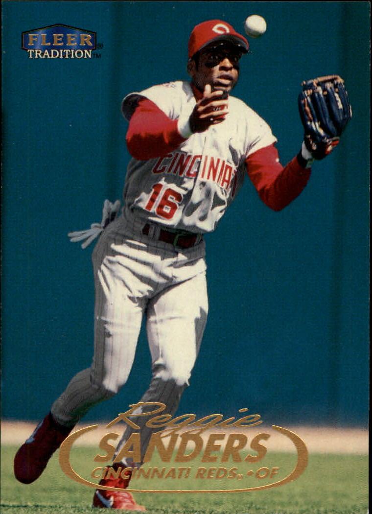 1998 Fleer Tradition #16 Reggie Sanders