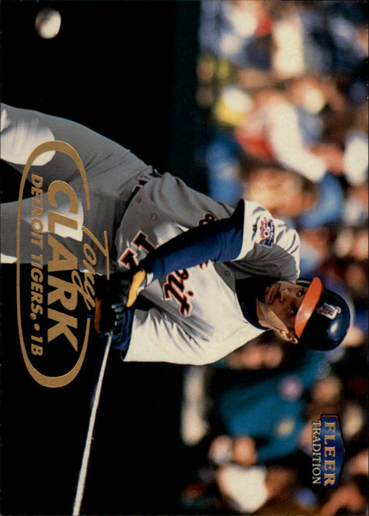 1998 Fleer Tradition #17 Tony Clark