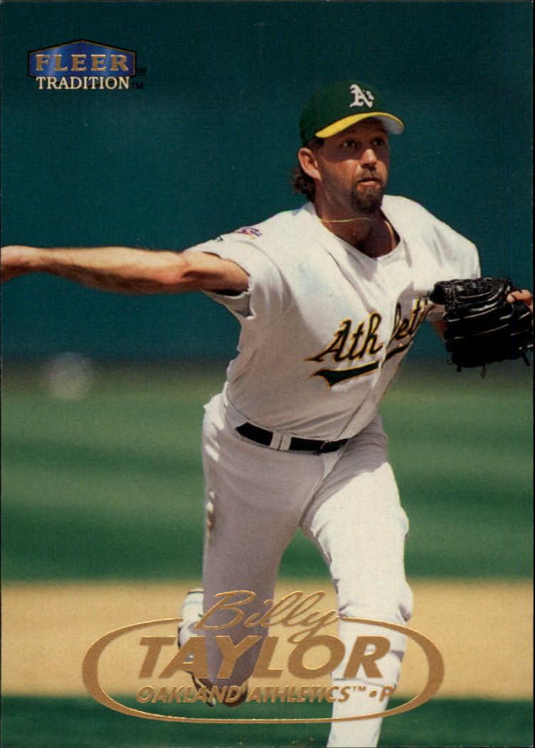 1998 Fleer Tradition #90 Billy Taylor