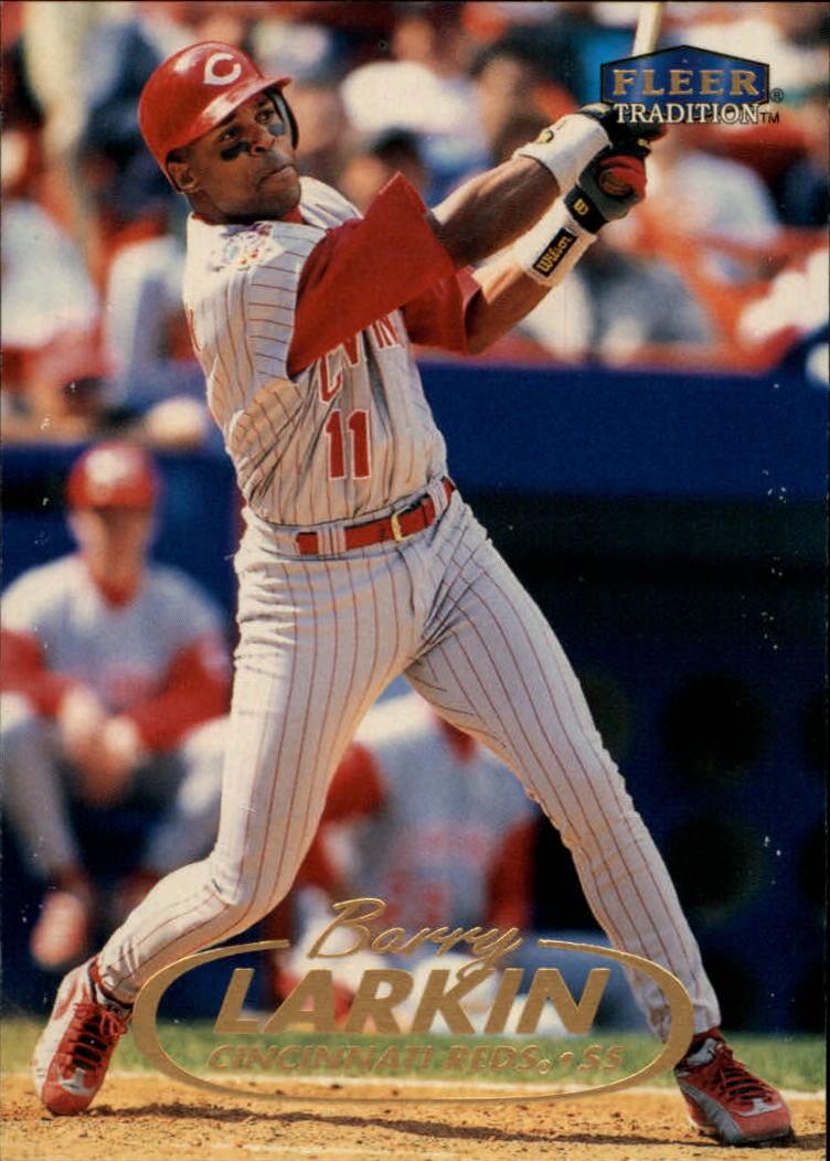 1998 Fleer Tradition #98 Barry Larkin