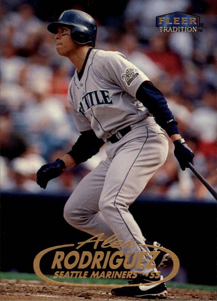 1998 Fleer Tradition #100 Alex Rodriguez