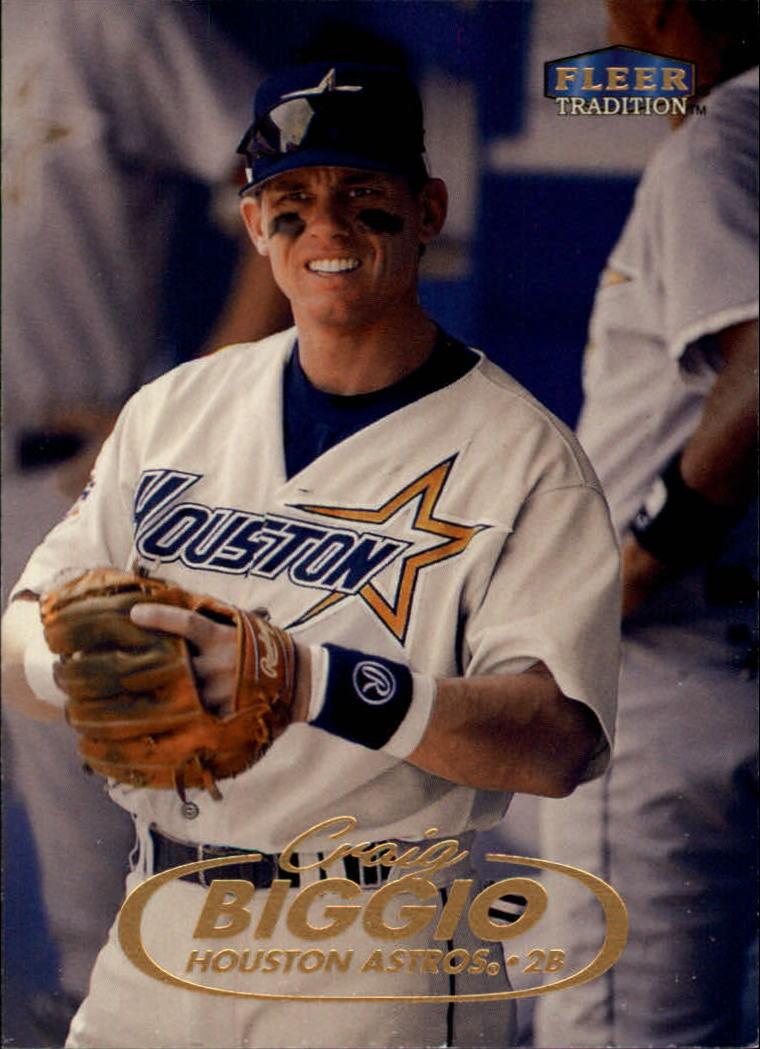 1998 Fleer Tradition #105 Craig Biggio