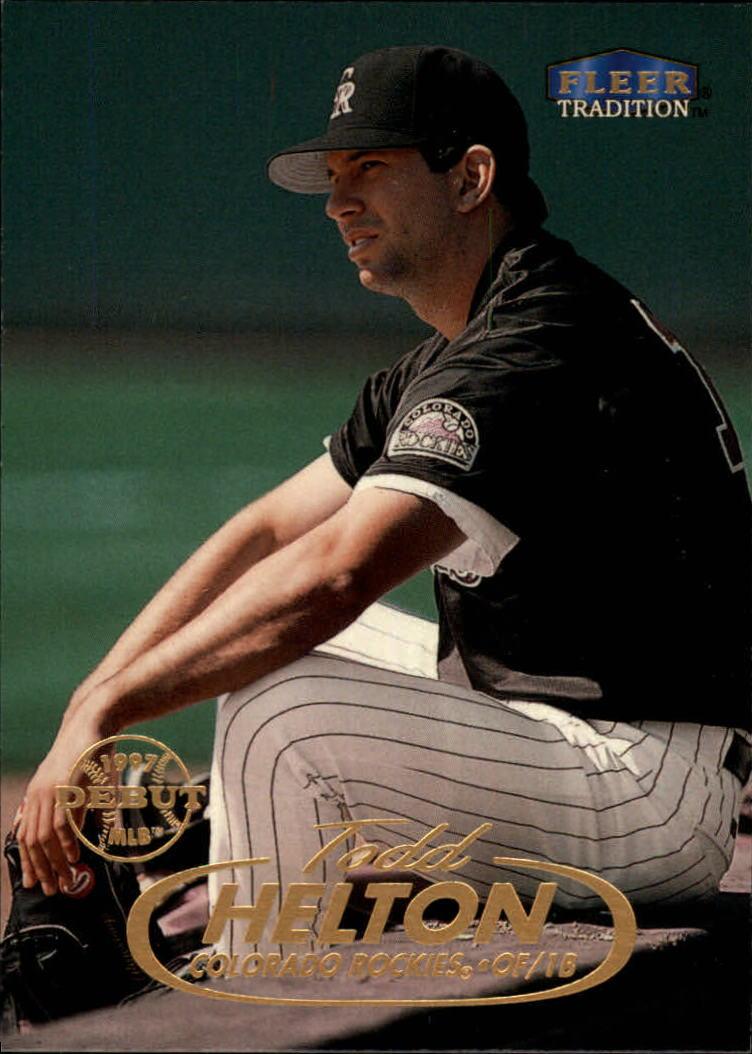 1998 Fleer Tradition #190 Todd Helton