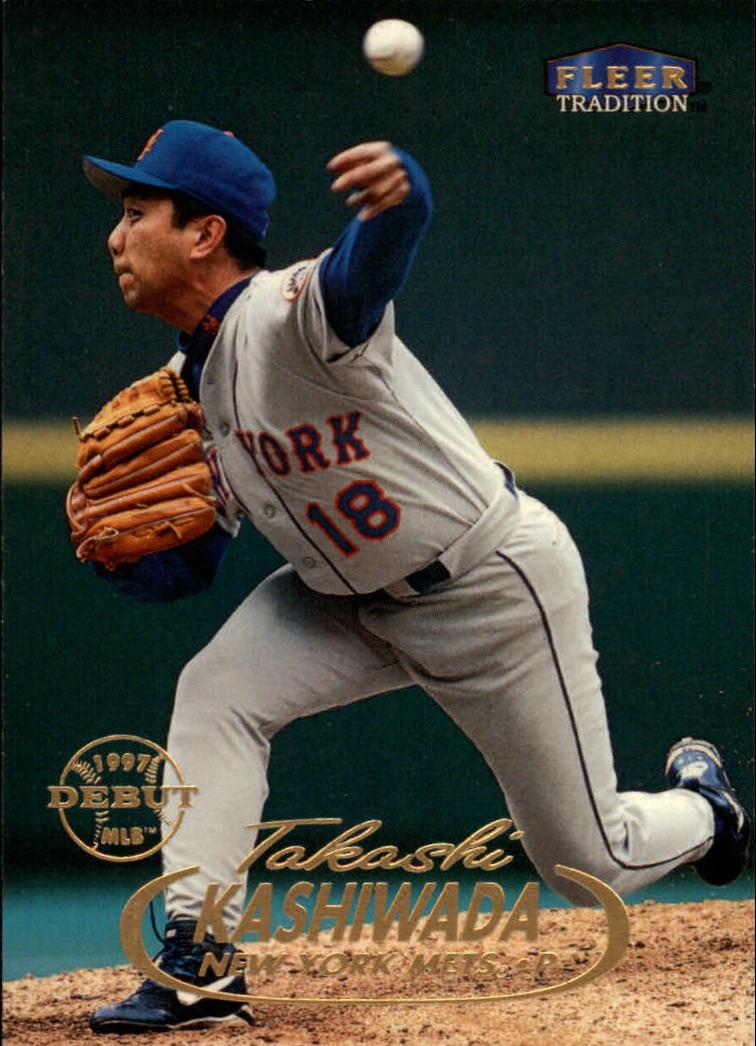 1998 Fleer Tradition #273 Takashi Kashiwada RC