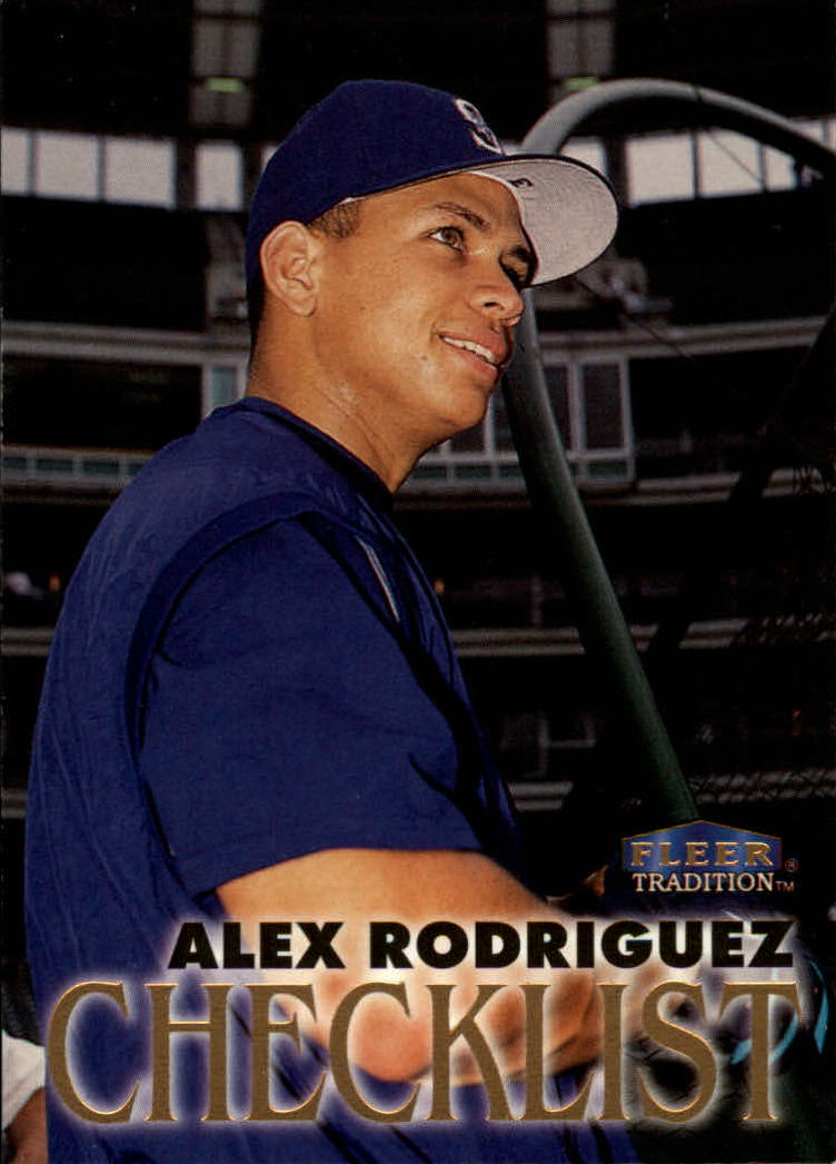 1998 Fleer Tradition #349 Alex Rodriguez CL