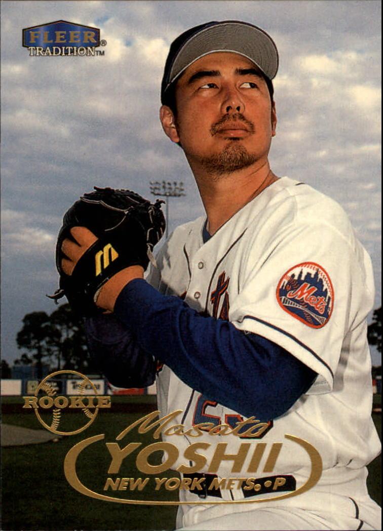 1998 Fleer Tradition #400 Masato Yoshii RC