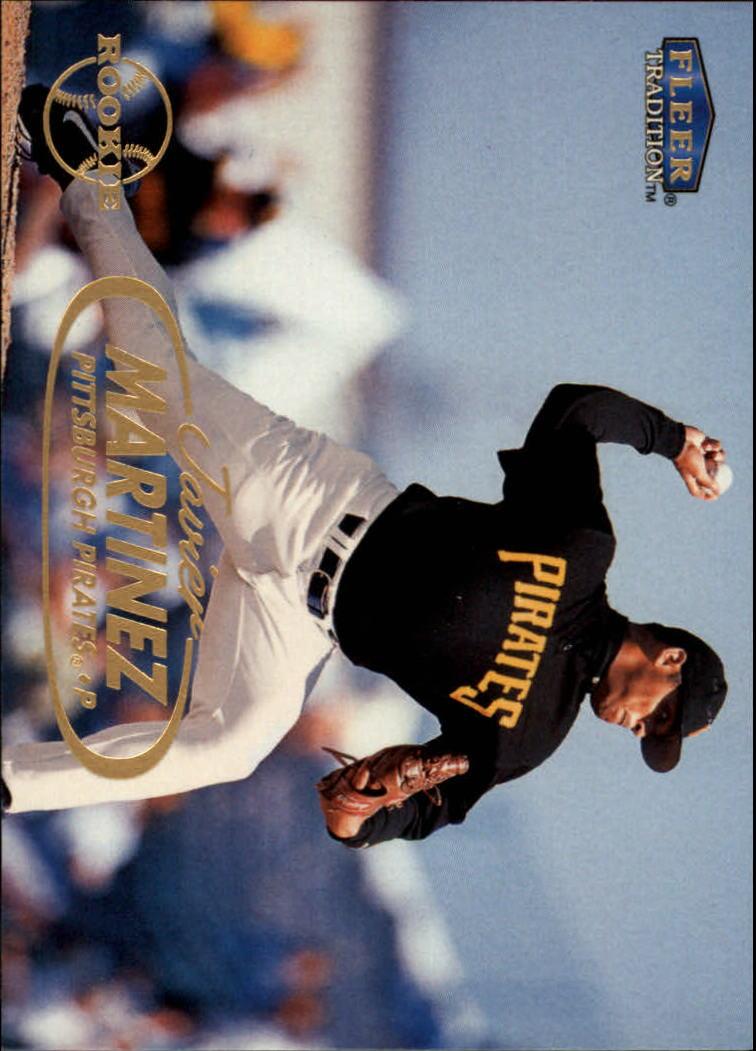 1998 Fleer Tradition #402 Javier Martinez RC