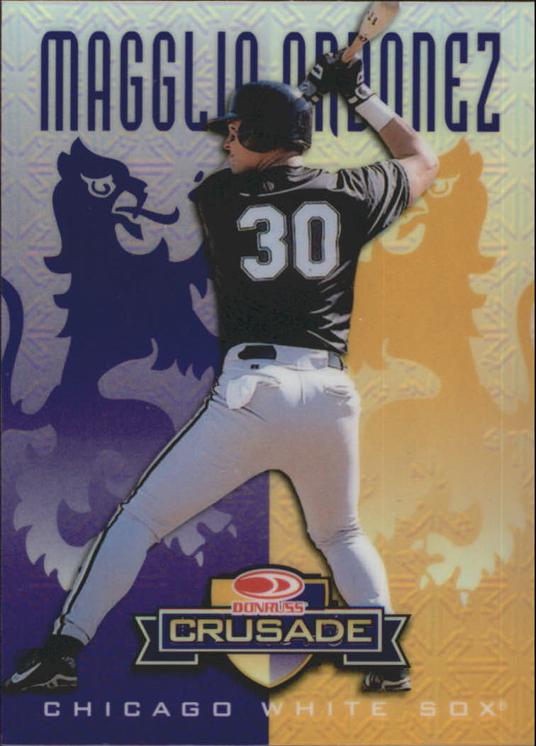 1998 Leaf Rookies and Stars Crusade Update Purple #130 Magglio Ordonez