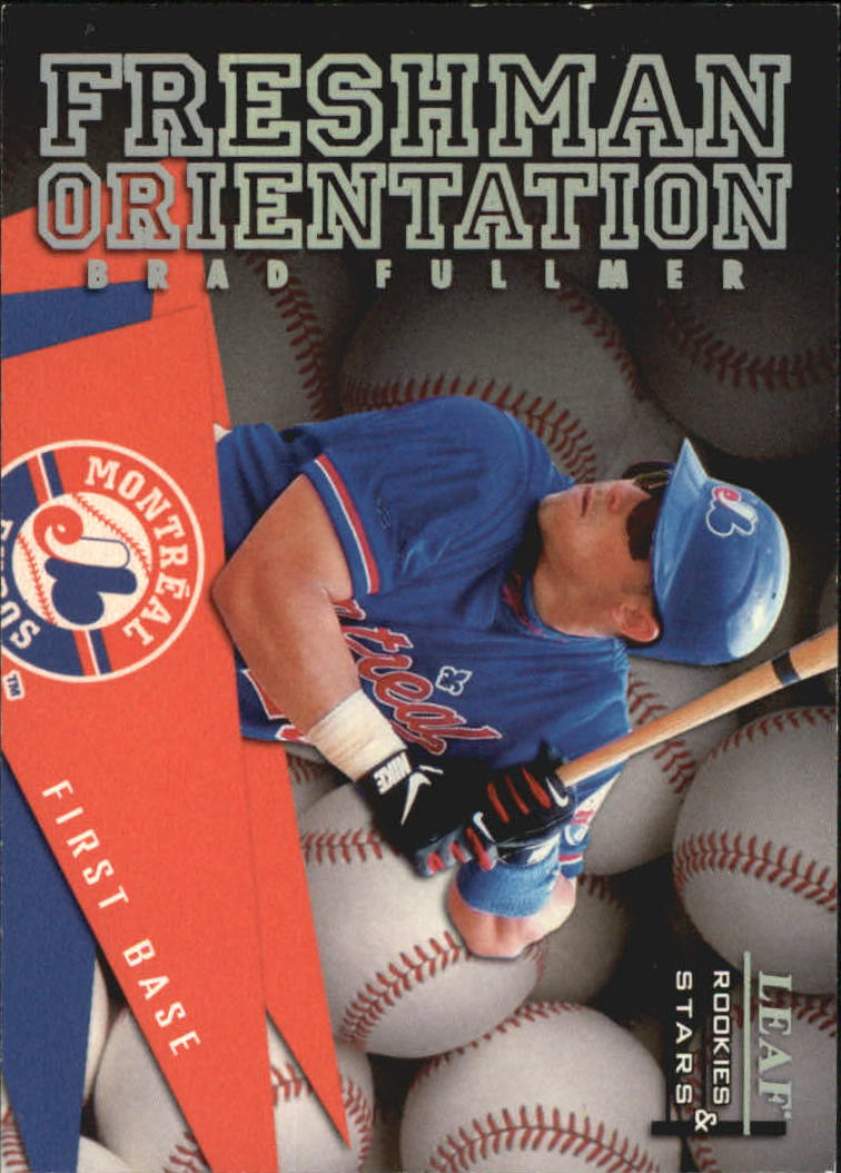 1998 Leaf Rookies and Stars Freshman Orientation #7 Brad Fullmer