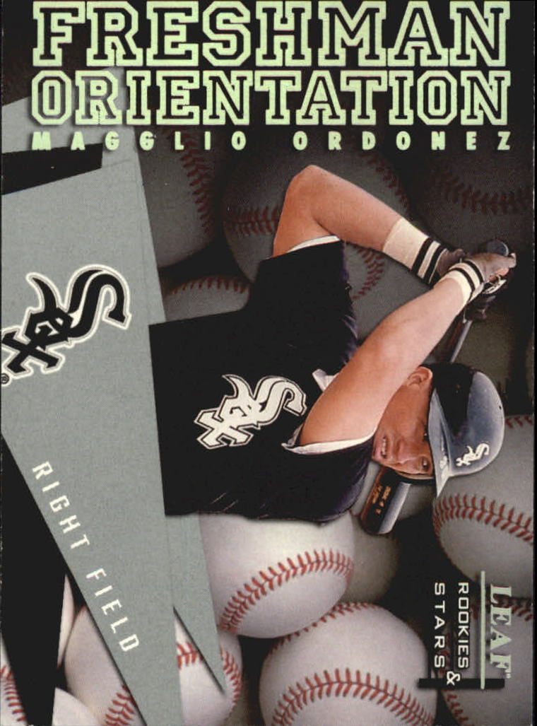 1998 Leaf Rookies and Stars Freshman Orientation #17 Magglio Ordonez